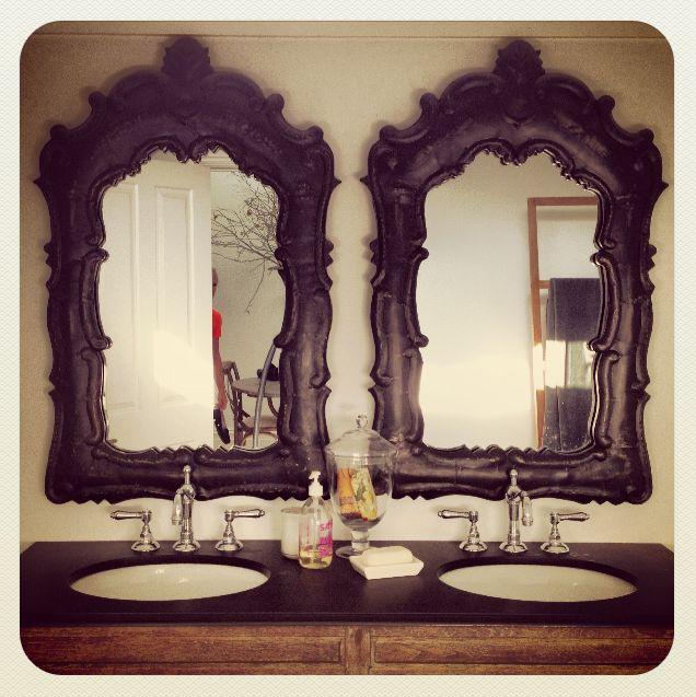Beautiful matching mirrors  www.perfectpieces.com.au