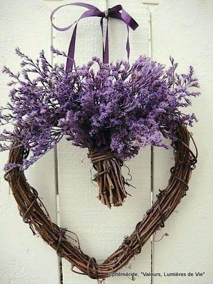 Lavender heart ♥