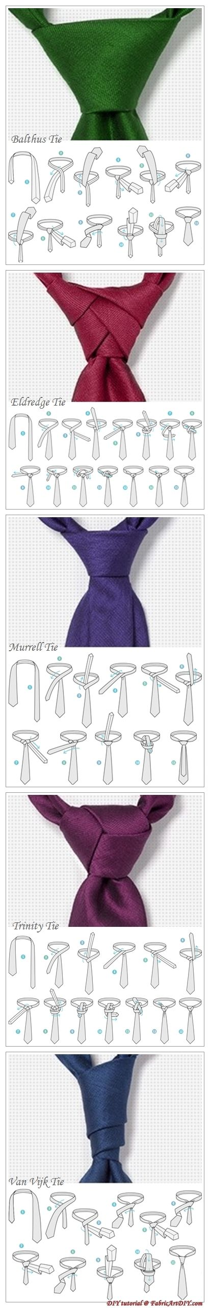 Adventurous tie knot instruction | Raddest Men's Fashion Looks On The Internet: http://www.raddestlooks.org Más