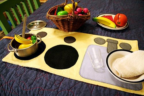 kitchen playmat!