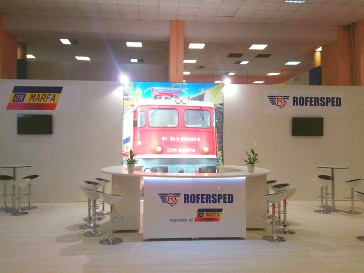 Rofersped booth at Translogistica 2017