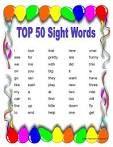 sight words 라는 게임으로 주위에서 흔히 찾아볼 수 있는 단어들이 이 게임의 주재료이다. 주위에서 흔히 찾아볼수 단어들이 써진 카드와 그 단어들과 대칭 되는 그림카드를 서로 짝지어 맞추는 게임으로 협동적이며 reading활동이 들어가고 시각적인 효과가 있으며 주위의 단어들을 효율적으로 익힐 수 있게 해준다.
