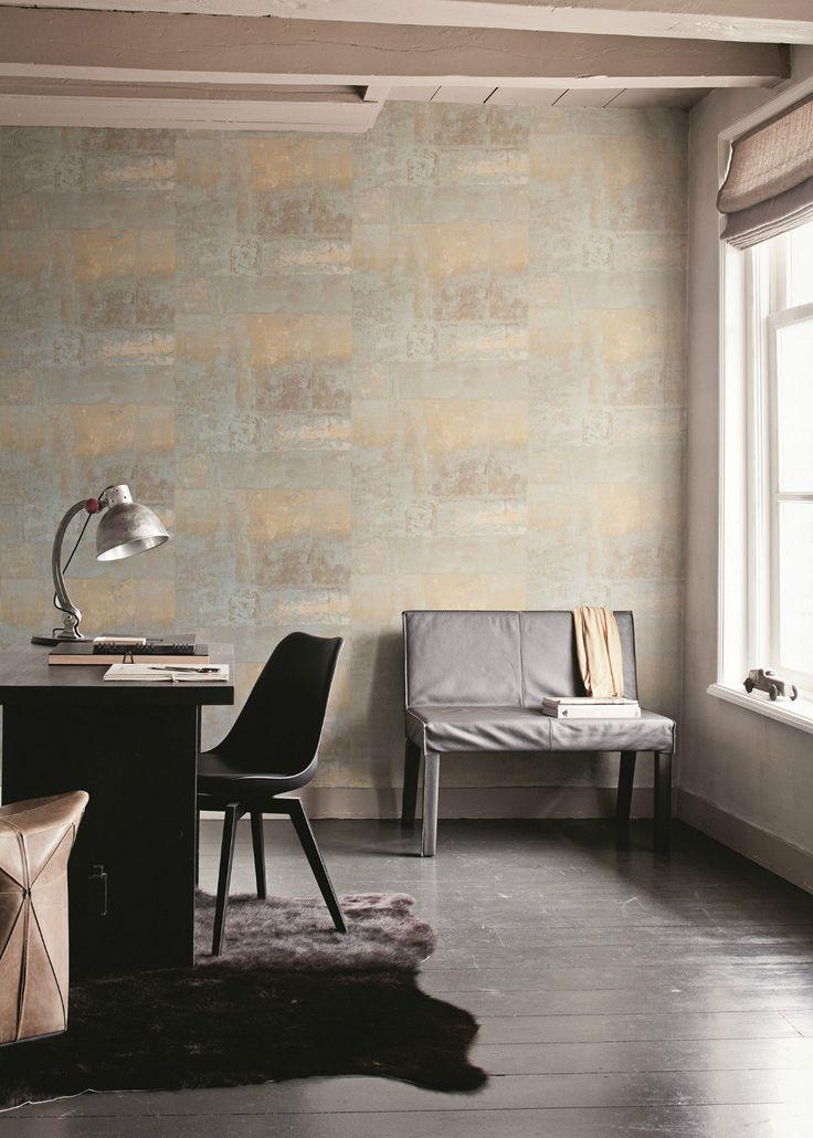 Die besten 25+ Mauertapete Ideen auf Pinterest Steintapete - backstein tapete wohnzimmer