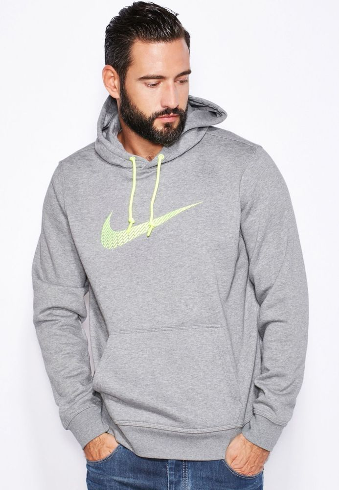 New Nike Men's Fleece Hoody Hooded Hoodie Club About Details ZfO7EE