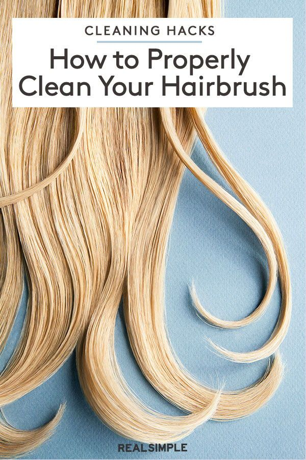 How To Clean A Hairbrush Video And Steps In 2020 Hair Brush Cleaning Clean Hairbrush