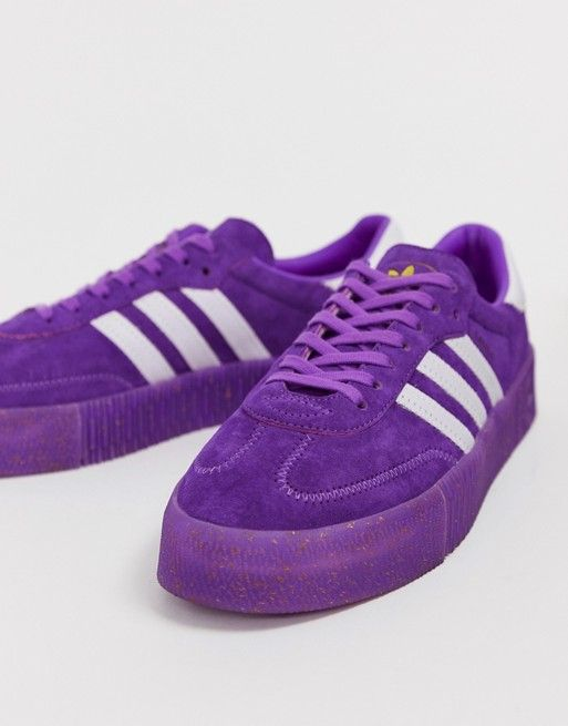 51827ffada adidas Originals TFL Samba Rose in purple and white