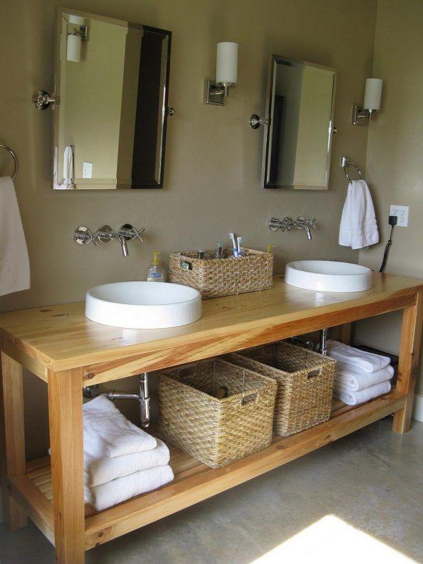 Unfinished Bathroom Vanity Cabinet