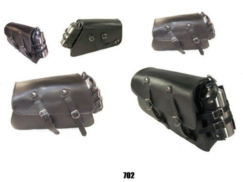 Price:$81.51 HDSparts Motorcycle LEATHER swingarm side bag for harley sportster 48 #parts #harleyparts #hdparts #sportsterparts #iron883parts #superlowparts #1200customparts #superlow1200tparts#fortyeightparts #roadsterparts