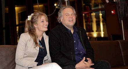 Vincent D'Onofrio with Leila George his daughter with Greta Scacchi.