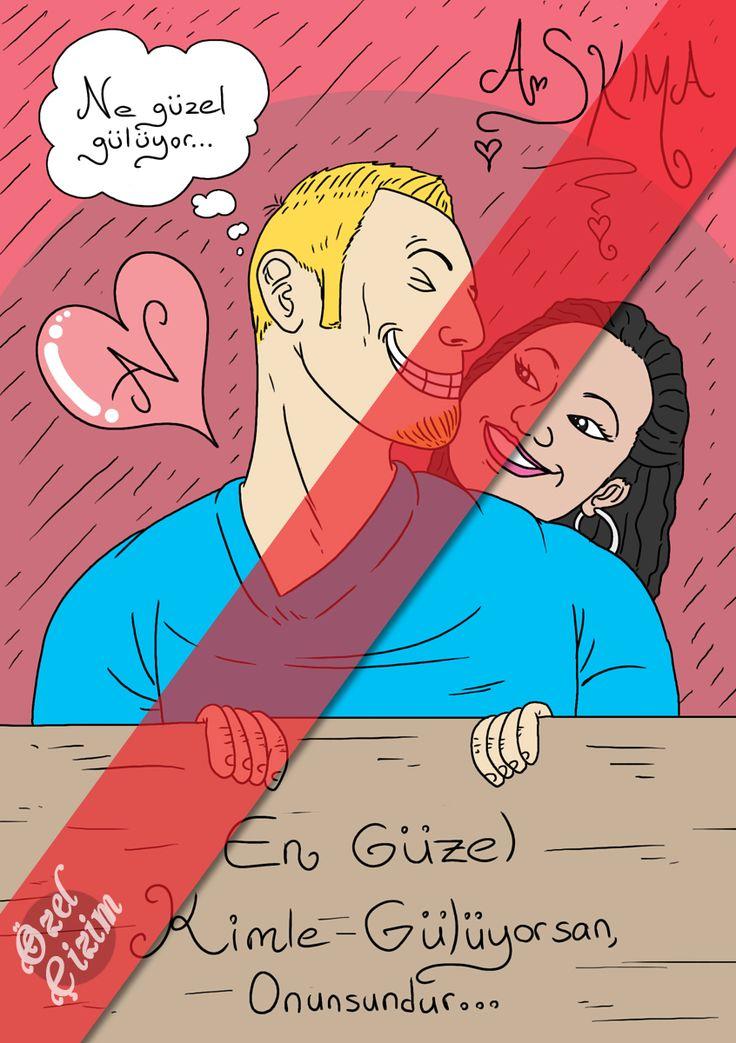 Doğum günü pastası için karikatür çizimi :)  #ozelcizim #ask #ozel #cizim #sanat #resim #cizim #pasta #hediye