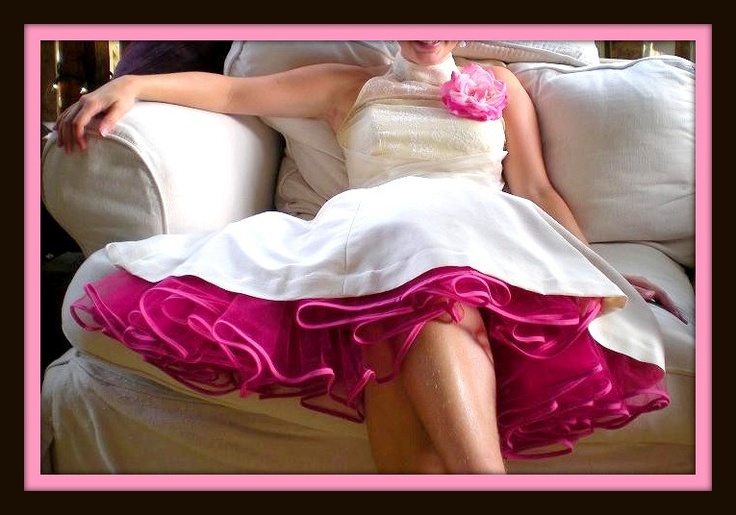 sitting in tulle   CUSTOM MADE TULLE PETTICOAT WITH GROSGRAIN RIBBON TRIM - all colors ...