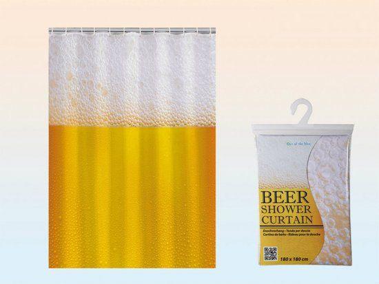 Douchegordijn bier