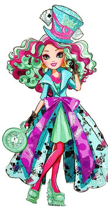 super-airi:  Madeline Hatter. Way to Wonderland. Profile art