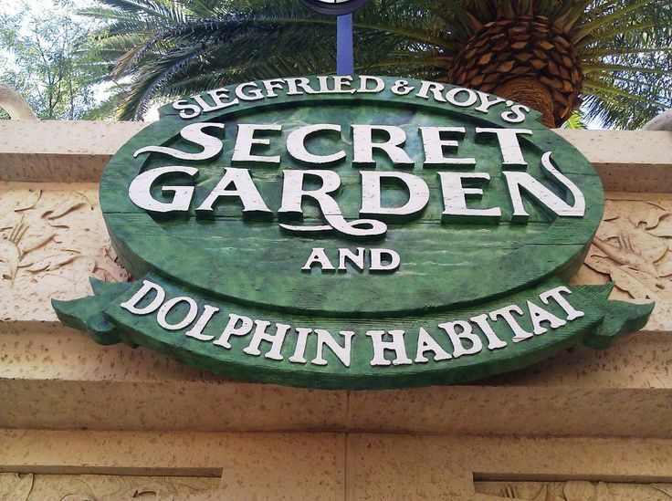Siegfried & Roy's Secret Garden and Dolphin Habitat at the Mirage. We're going to swim the dolphins he he he xxx