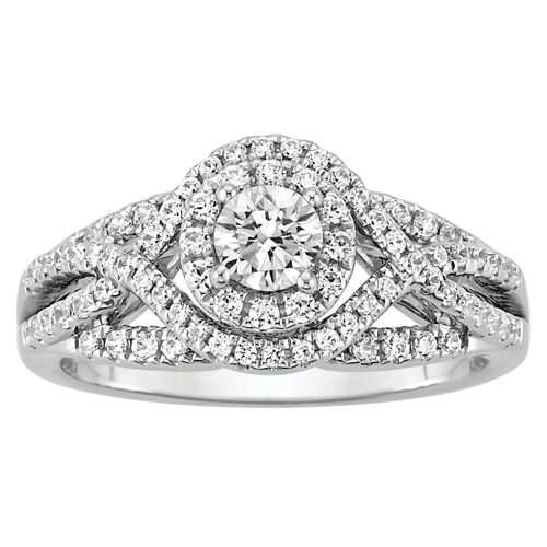 Cool Fred Meyer Jewelers ct tw Diamond Engagement Ring