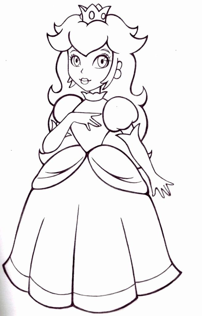 Mario Daisy Coloring Page Awesome Free Princess Peach Coloring Pages Download Free Clip In 2020 Super Mario Coloring Pages Princess Coloring Pages Mario Coloring Pages