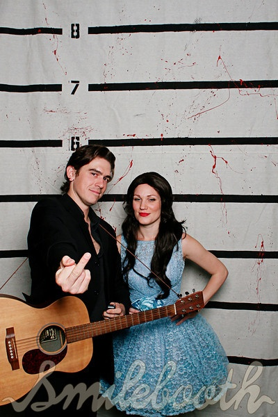 Jonny Cash and June Carter