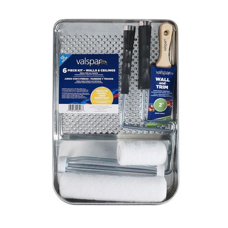 valspar 6 piece paint applicator kit lowes com in 2020 on valspar paint visualizer interior id=15908