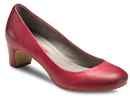 We love this Chrismassy Chilli Red heel which is £95. See it on our website here http://www.ecco-shoes.co.uk/shop/womens-shoes/marion-chili-red.php
