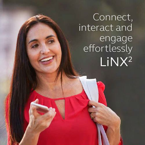 LiNX2 - Connect, interact and engage effortlessly.  Visit resound.com/en-AU/hearing-aids/linx2