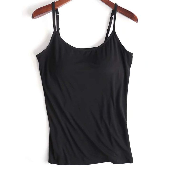 Pin on Tank Tops With Built-In Bra From Amazon