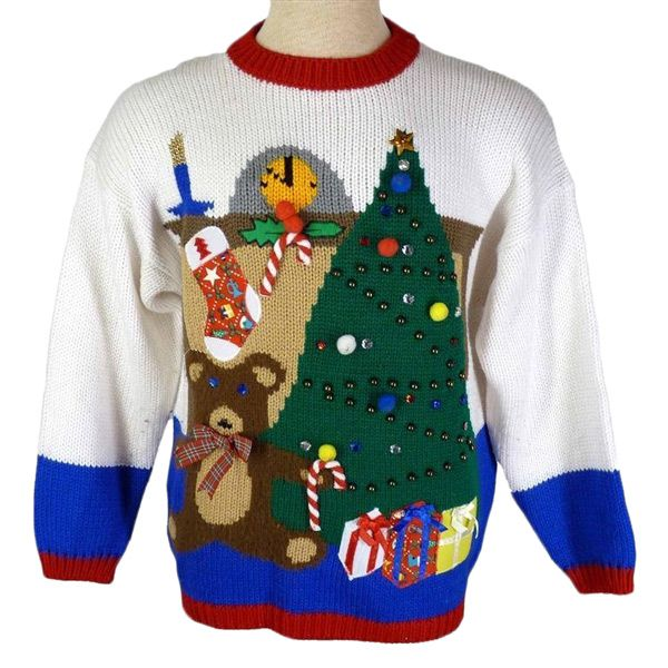 """Decorated-Tree- needing ideas for a FUN Ugly Christmas Sweater Party check out """"The How to Party In An Ugly Christmas Sweater"""" at Amazon http://www.amazon.com/Party-Christmas-Sweater-Simple-ebook/dp/B006PGBRDW/ref=sr_1_3?ie=UTF8=1354124434=8-3=the+how+to+party+in+an+ugly+christmas+sweater"""