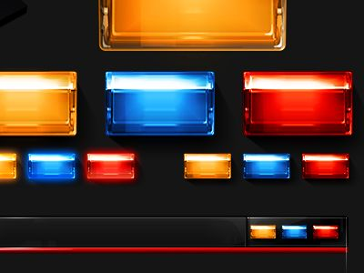 Dribbble - Star Trek Windows Theme window buttons - Close | Min | Max by The Skins Factory