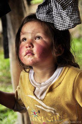 Jenny herrera - niña Campesina el Cocuy - Colombia 2009
