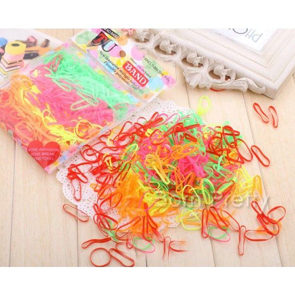 $1.81 Colorful Holder Girl's Popular Hair Tie Band (Random Color) - BornPrettyStore.com