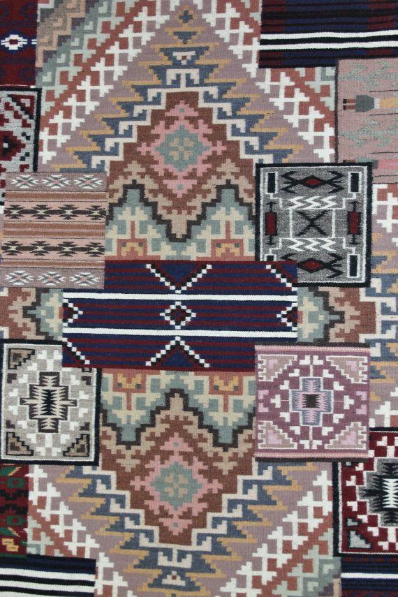 Navajo Pictorial Rug, Native American Rug, Wool Navajo Rugs, Navajo Weaving, Handwoven Navajo Textiles, Marilou Schultz, #597