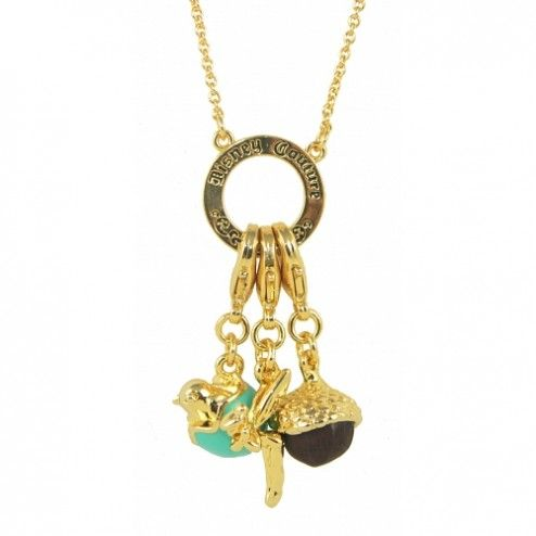 Disney Couture Tinkerbell Charm Necklace