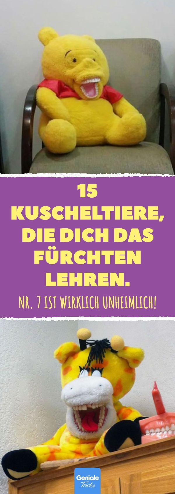 15 Kuscheltiere, die dich das Fürchten lehren. Nr. 7 ist wirklich unheimlich! K…