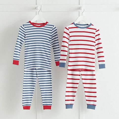 Pyjamas Little White Company Stripes