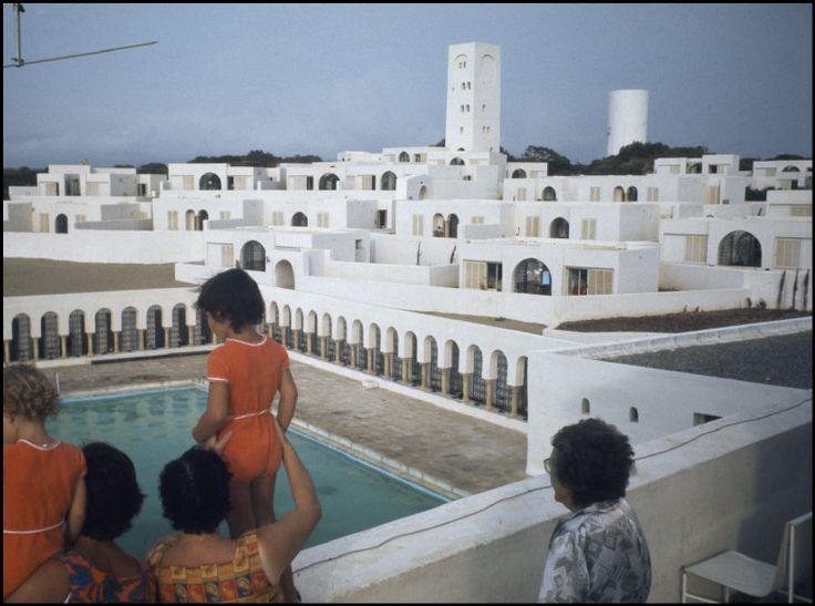 French Architect marc riboud algeria. zeralda new complex near algiers designed