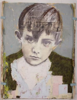 Louis Boudreault, Pablo Ruiz Picasso, Technique Mixte 210 x 180 cm, 2011