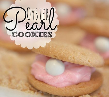 Nautical First Birthday Party Ideas!   Disney Baby Pearl Oyster Cookies