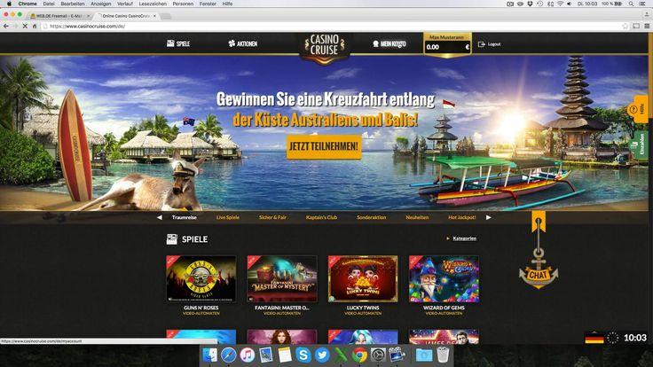 Casino Cruise Testbericht: Anmeldung & Einzahlung erklärt [4K]