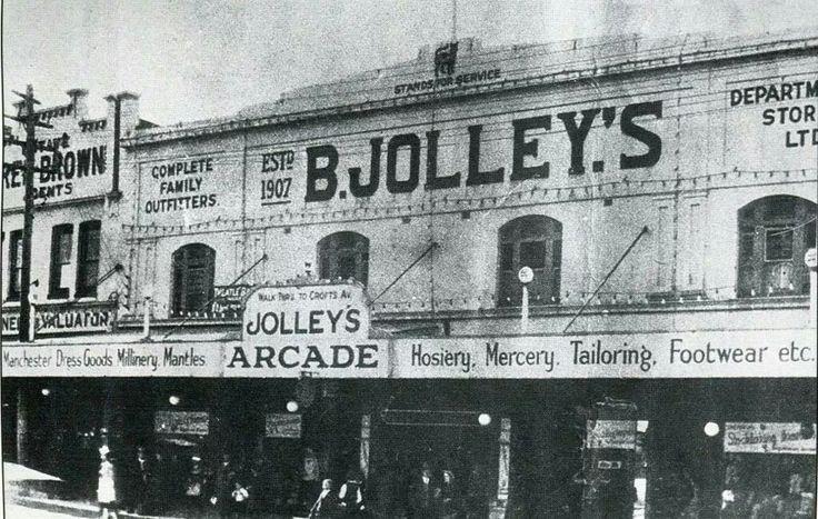 Bert Jolley's in Hurstville, southern suburb of Sydney (year unknown).