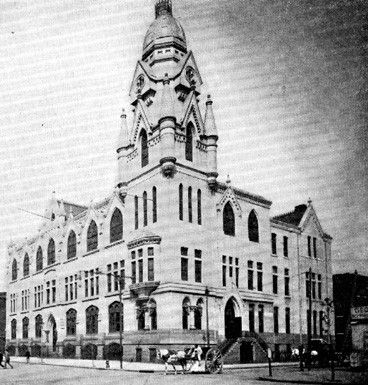 Philadelphia, PA - Roman Catholic High School as it appeared in 1900.