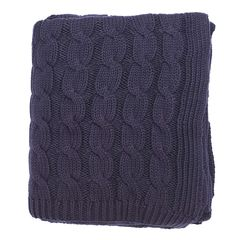 Large Navy Throw