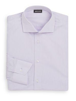JUST CAVALLI Regular-Fit Camicia Dress Shirt. #justcavalli #cloth #shirt
