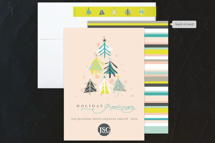 137 best holiday corporate business images on pinterest joyous trees holiday greetings christmas rose business holiday cards by fatfatin reheart Images