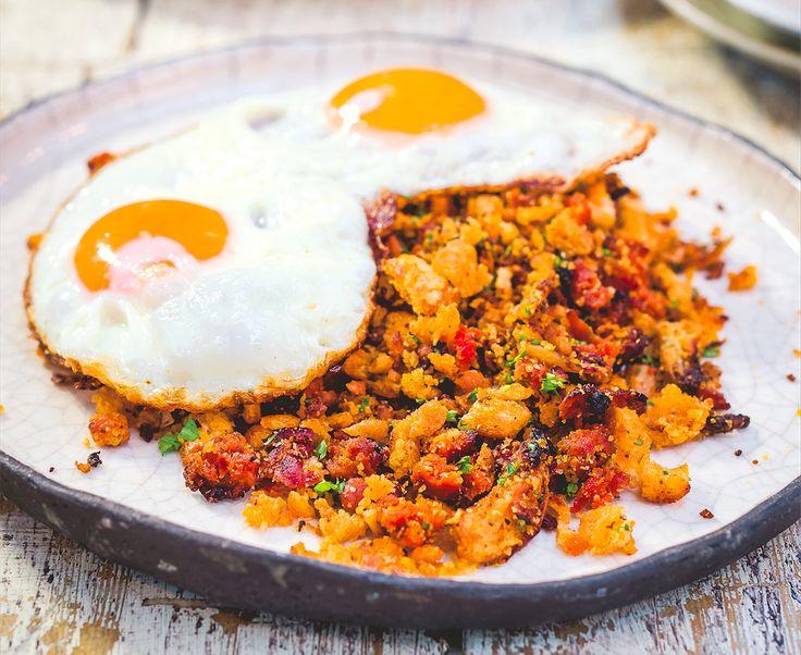 Sunny-Side Up! Make This Chorizo Migas Recipe   Food Republic