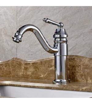[$30] Deck Mount Bathroom Basin Mixer Taps Chrome Finish 230A