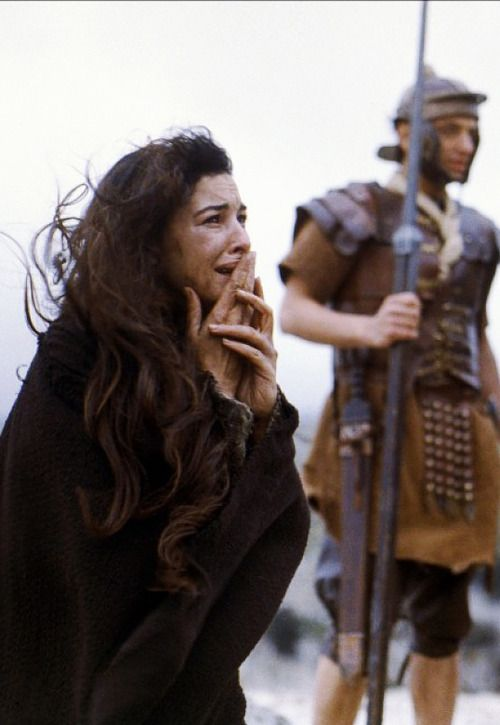Monica Bellucci in The Passion of the Christ: