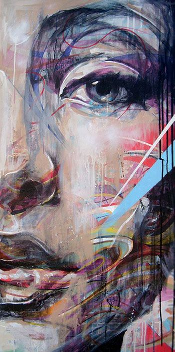 Danny O'Connor, Musetouch. Recently discovered due to Abstract Painting project. I fell I love instantly with his work.
