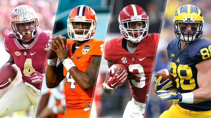 Top 5 College Football Games of the 2016 Season  Top 5 College Football Games of the 2016 Season  While theoretically every team begins the season with a shot at making the College Football Playoff, not all matchups are created equal. Some team will inevitably make an unexpected run to put itself in playoff contention, but it's not difficult to envision that a few teams will be in the thick of the race.  It's impossible to fully predict how the battle for playoff bids...
