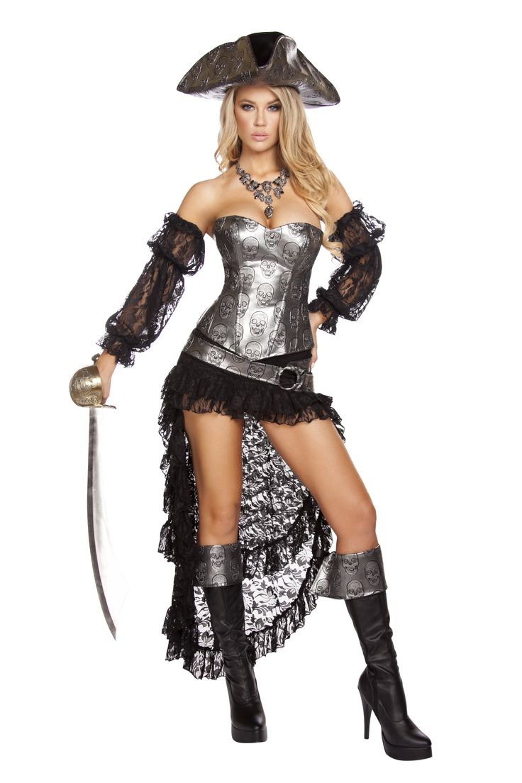 Deadly Pirate Captain Costume RM-4572 #pirate costumes #womenhalloween #newhalloweencostumes