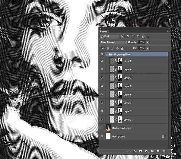 My most popular tutorial of 2014 was my guide to creating a realistic money effect in Photoshop, which explained the steps to achieve an authentic engraved illustration style. The process is quite time consuming, so I figured it would be useful to follow it up with a ready made Photoshop Action that produces the effect …