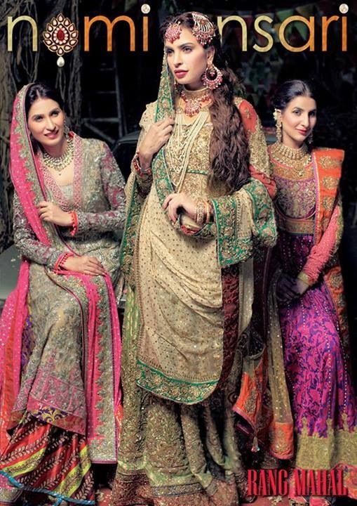 Nomi Ansari Pakistani Bridal Fashion
